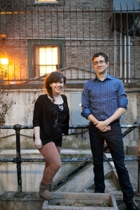 Sara Cooper and Zach Redler. Photo by Isabelle Selby.