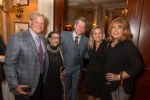 Rich and Lucille Janssen, AOP General Director Charles Jarden, opera singer Donna Smith, Karen Nelson