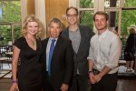 opera singer Sarah Moulton-Faux with composers Stephen Schwartz, Douglas J. Cuomo, and Gregory Spears