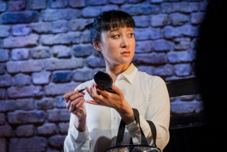 Hai-Ting Chinn in The Wanton Sublime (Grimeborn - Arcola Theatre) © Robert Workman