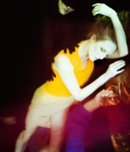 Wendy dancing